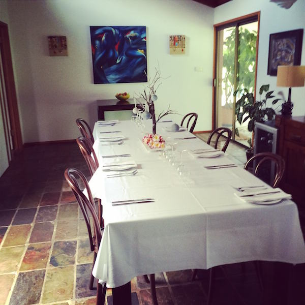 Dining Room at Hillcrest Mountain View Retreat, Crystal Creek via Murwillumbah, NSW