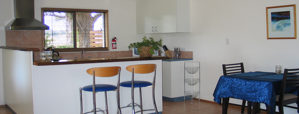 Kitchen in The Cottage at Hillcrest